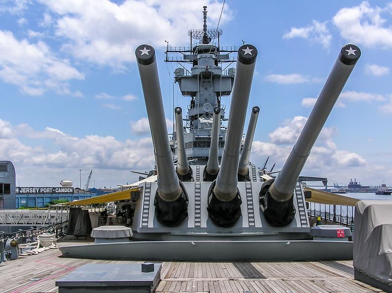 Big Guns of the USS New Jersey