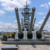 Big Guns of the USS New Jersey
