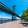 Benjamin Franklin Bridge & Race Street Pier