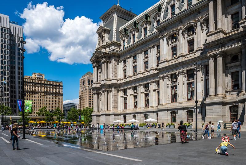 City Hall Fountain Park