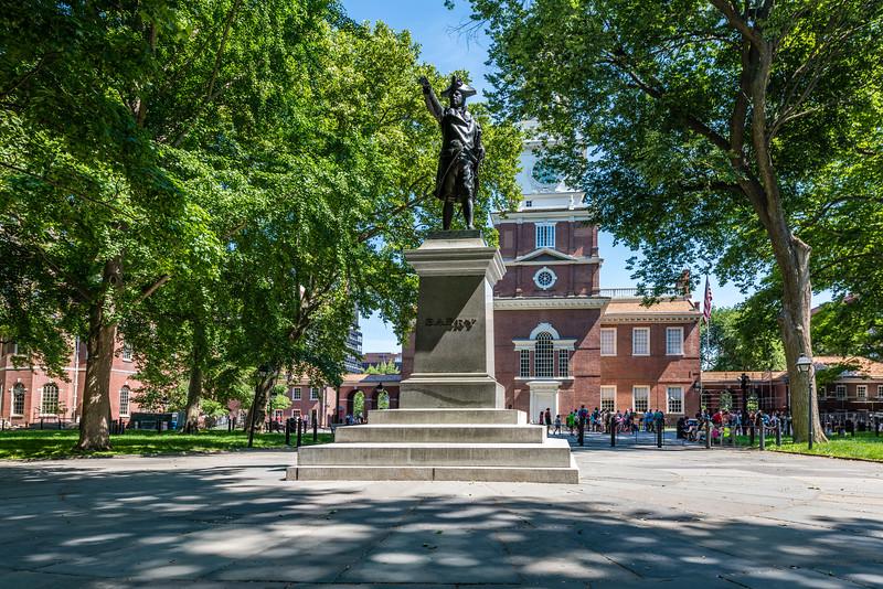Commodore John Barry Statue