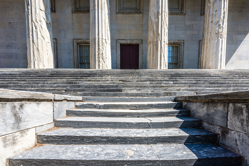 Steps to the Second Bank of the United States