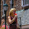 Singing at the Parade