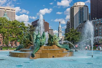 Fountains & City Hall