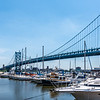 Benjamin Franklin Bridge & Marina