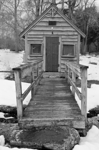 3-9-13 <br /> Black and White at the Herring Run