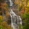I have been told that it is higher than Niagra Falls and to me it is just as beautiful. Whitewater Falls is near Cashiers, North Carolina and in the fall the colors are tremendous. It has easy access and is very well maintained.