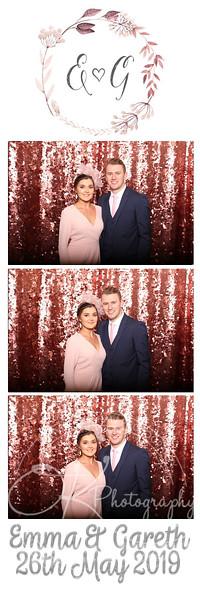 Photobooth - Shearsby Bath - Emma & Gareth
