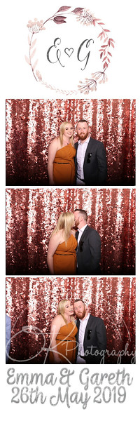Photobooth - Shearsby Bath - Emma & Gareth