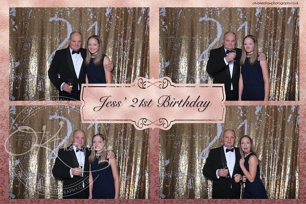 Jess 21 Birthday photo booth