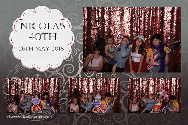 Nicola's 40th
