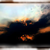 """<center><em><h2>""""End of August Sunset""""</h2></em></center> While out for a walk in my neighborhood last night hunting for a POD I was striking out capturing anything worth while UNTIL I took a turn toward home and saw the sun setting at the end of the street above the ball park. So I headed towards the light and by the time I got there this is what greeted me. I really liked the small blazing orange hole silhouetting the trees and the light rays springing out along the horizon. Funny how this cloud formation was only on the horizon where the sun was setting because there wasn't another cloud in the whole sky elsewhere.  I thought it fitting to end the month of August with a beautiful sunset image to get ready for Septembers fall colors. Hopefully the trees will present some interesting colors again this year since it's my favorite time of the year to shoot out door landscapes.  Hope you are all having a wonderful holiday weekend, enjoy your labor day and all of your end of year BBQ's. Me, I'll be home alone looking for the next POD drinking a nice cup of coffee! ~Thanks for looking~  <em>~Bill~</em>"""