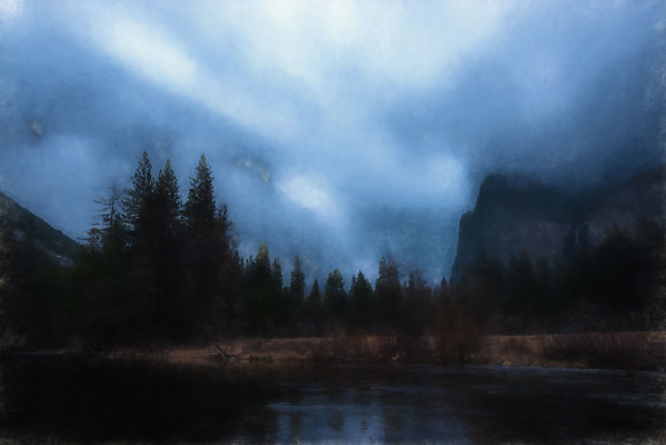Yosemite Valley View I