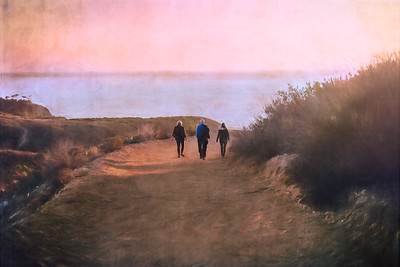 A walk before sunset