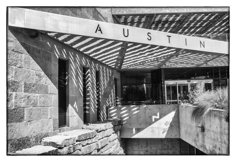 Austin City Hall Shadows