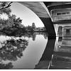 Under the Lamar Street Bridge