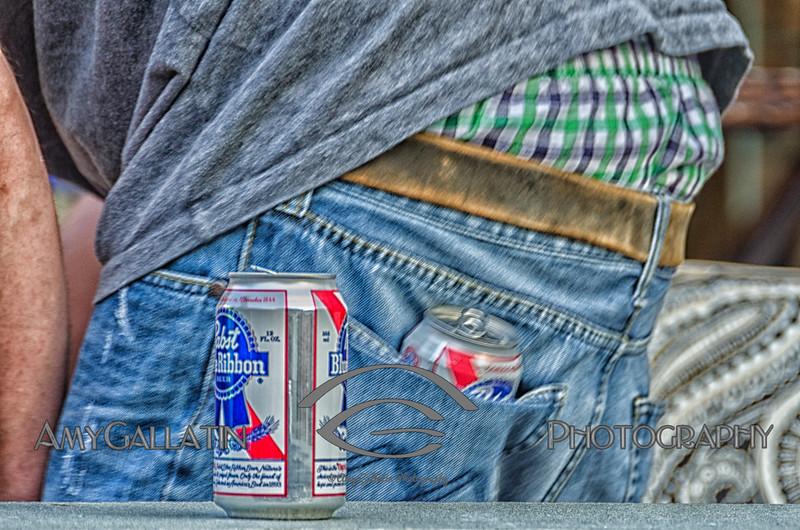 Blue Ribbon Pocket