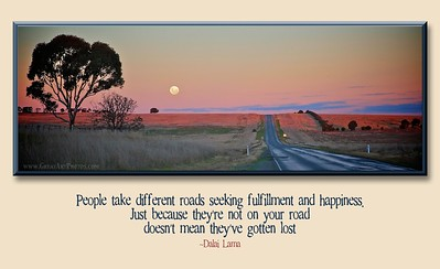 People Take Different Roads