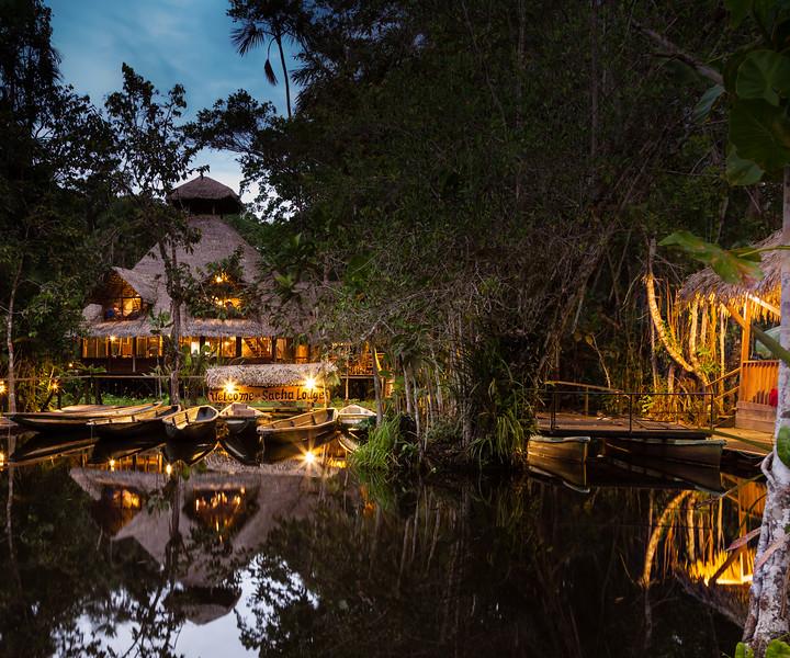 Sacha Lodge, Amazon basin, Ecuador