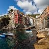 Riomaggiore, Italy in the Cinque Terre
