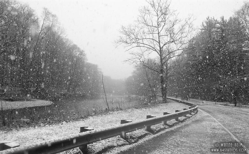 Snowy Bend. Photography by Wayne Heim