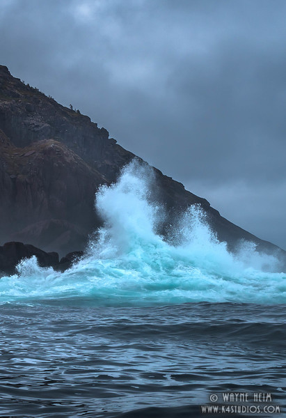 Angry Waves.   Photography by Wayne Heim
