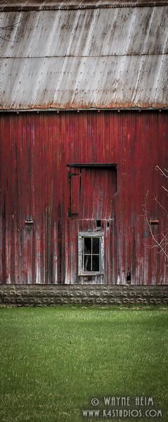Red Barn. Photography by Wayne Heim