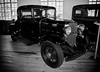 Antique Car -  Black 1932 Chevrolet Business Coupe