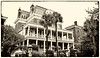 """Charleston's most haunted inn""<br /> <br /> Haunted by The Gentleman Ghost and the headless torso.  Visit their website for the stories.<br /> <br /> The Battery Carriage House Inn  (Light rose tone)"