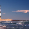 Cape Hatteras Lighthouse has been moved inland.