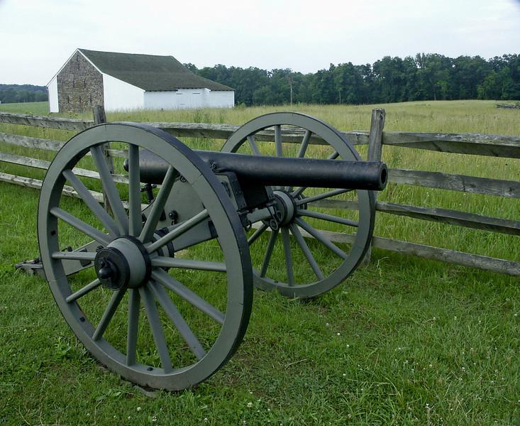 McPhearsons Farm at Gettysburg Battlefield
