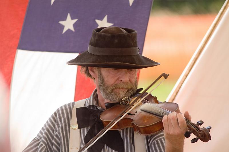 Reenactment Musician