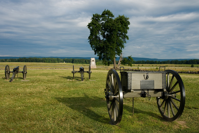 The Angle at Gettysburg Battlefield