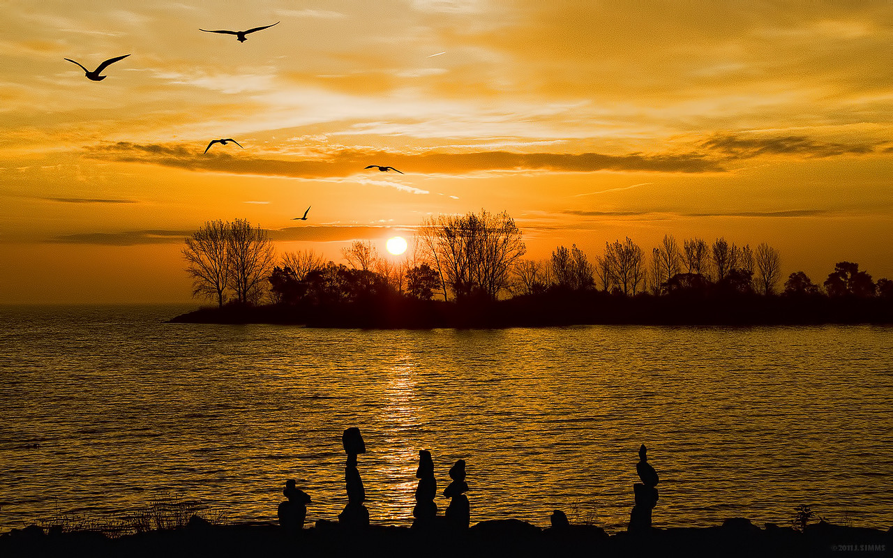 Sunrise from Humber Bay Park West
