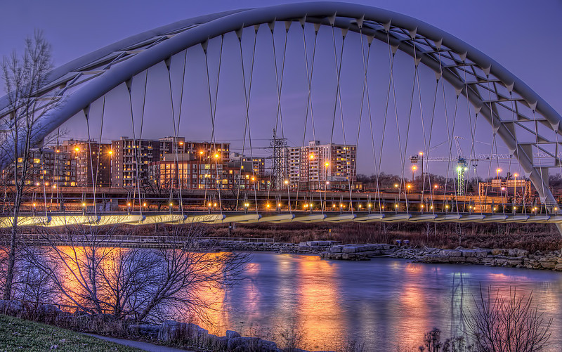 Humber River Arch, Humber Valley Park West, Toronto, Ontario