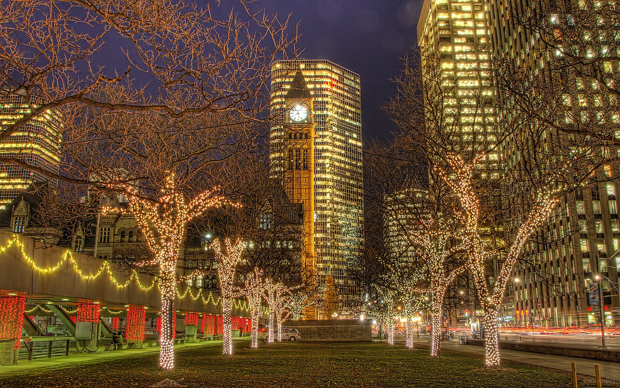Cavalcade of Lights, City Hall, Toronto, Ontario, Canada