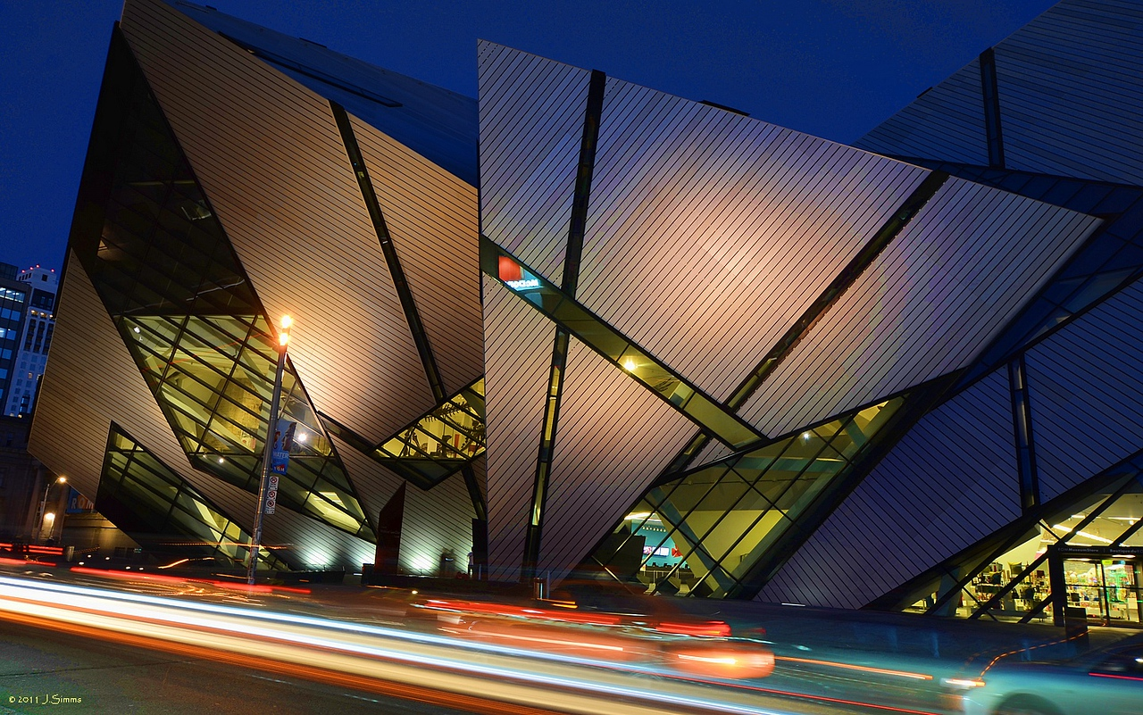 Royal Ontario Museum, Bloor Street West and Queen's Park Circle