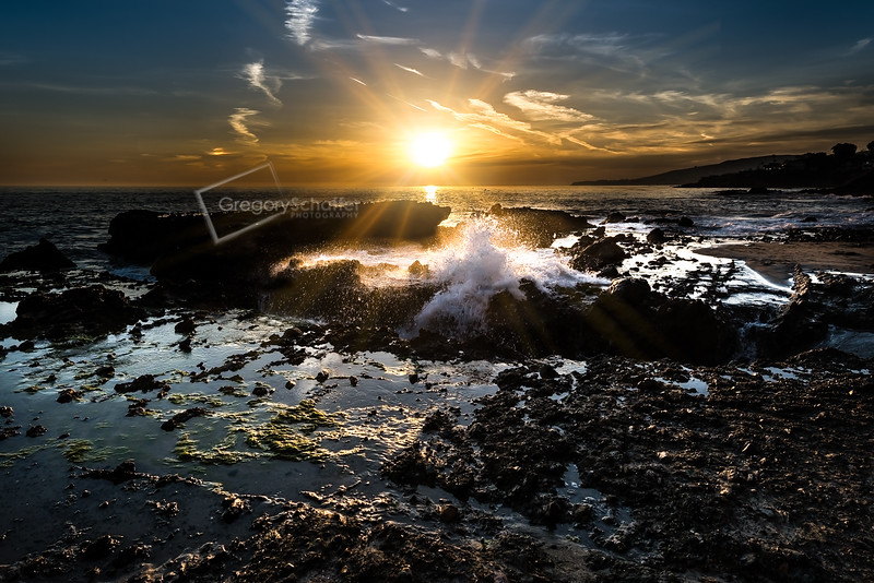 Sunset at Victoria Beach