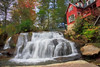 Mill Shoals Falls Oil Painting