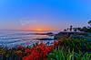 Sunset over Catalina Island from Treasure Island Park