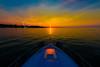 A night on Lake Ontario