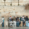 Calvary Chapel Bible College, Peru, staff and students pray at the Western Wall in the old city in Jerusalem.