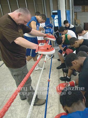 Praying Boxers