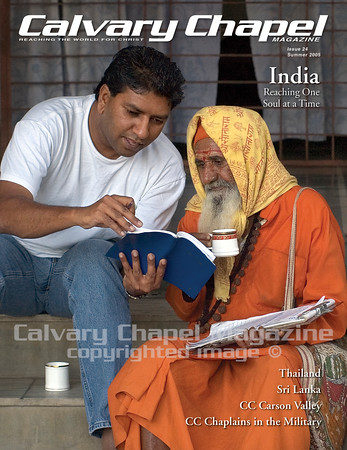 Ben Hiwale, associate pastor at Koinonia Fellowship in Rochester, new York shares the Gospel with a Hindu priest in India.