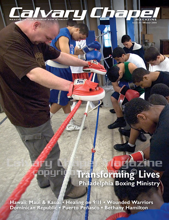 Rock Ministries  serves teens in Philadelphia through boxing and other after school programs.  Buddy Osborne prays with the youth at the Rock Ministries gym night. Boys starting at age 10 practice  boxing skills to ultimately compete in boxing matches like the golden gloves and the junior Olympics.  Buddy mainly reaches the kids for Christ.  Many of the boys are born-again believers.