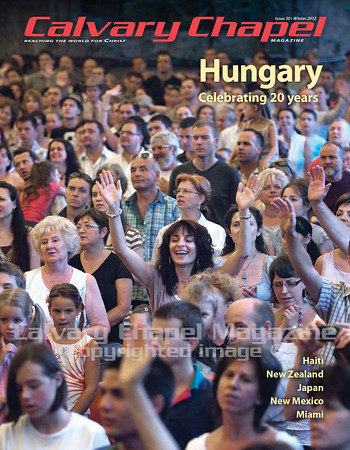 Several thousand believers from two dozen Calvary Chapel churches and fellowships celebrate 20 years of Calvary Chapel in Hungary.