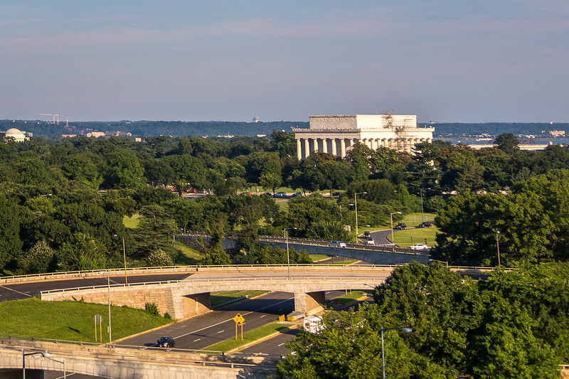 Lincoln Memorial from the Kennedy Center