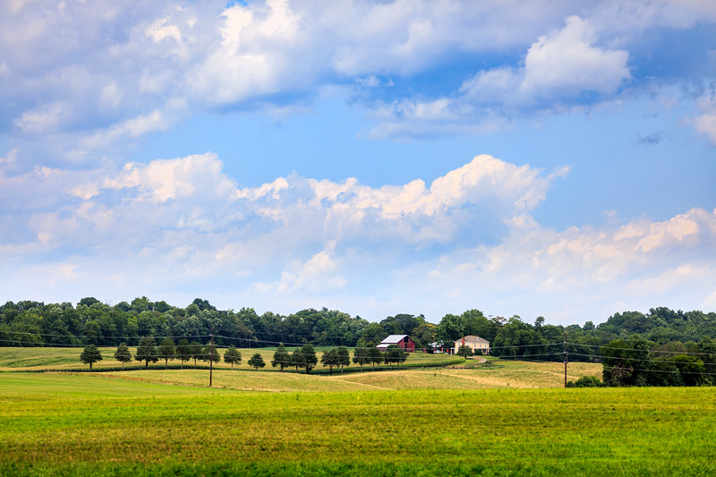Landscape along Route 522