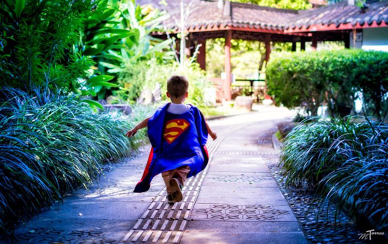 Superman on the Run