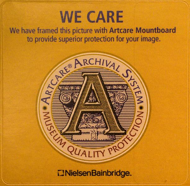 Artcare Declaration Label